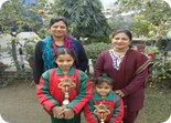 Harshita of Nursery and Jagpreet of K.G. Winners of Inter School Colouring Competition