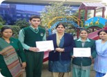 Khushwant Singh and Palakdeep Kaur selected for National Level CBSE Science Exhibition