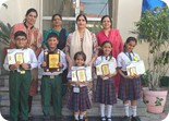 Bagged the winners trophy in Ludhiana Sahodaya Schools Complex (Central Zone) Poetry Recitation Competition