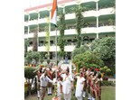 Flag Hoisting Ceremony On Independence Day