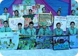 Inter House Poster Making Competition on Diwali