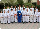 Karate Team Girls