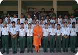 Selection of NCC Cadets