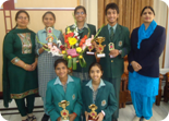 Winners of Flower & Poster Making Competition held at Rose Garden Ldh