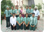 Winners of Punjab School District Chess Tournament